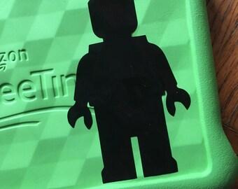 Lego Mini Figure Inspired Car, Laptop, or Decor Vinyl Decal
