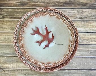 Large Ceramic Nesting Bowl Set - Stoneware Mixing Bowls - Handmade Pottery Nested Bowls - Hostess Gift