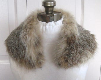 Fox Fur Collar .  fox collar . fox