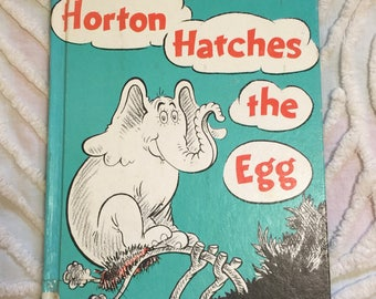 Dr. Seuss Horton Hatches the Egg 1940 Vintage Book