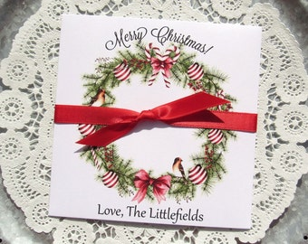 Gift Card Holder -Christmas Party - Christmas Party Gift - Christmas Gift Card Holder - Holiday Lottery - Holiday Party Favors