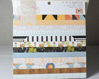 Scrapbook 6x6 Paper Pad by Glitz