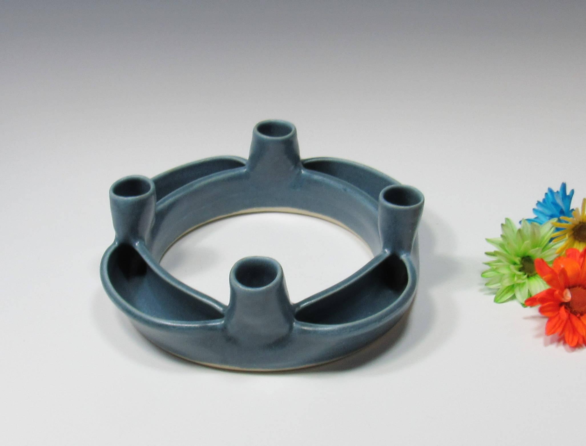 Spring Wreath Posey Ring Tabletop Centerpiece Decor