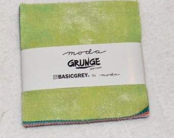 Basicgrey Moda Grunge Charm Square Pack