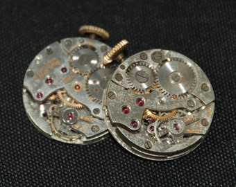 Steampunk Watch Movements Vintage Antique Small Round Watch Movements RE 77