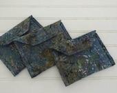 Mini Fabric Wallets - Ter...
