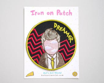 Twin Peaks - Surrealism - David Lynch inspired - Dreamer Iron On Patch