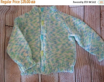 FLASH SALE Light weight knit baby sweater - 6 - 12 months