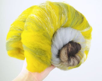 Lothlorien - Merino Wool Art Batt 3.2oz