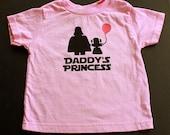 Daddy's Princess Toddler T Shirt - Pink Shirt