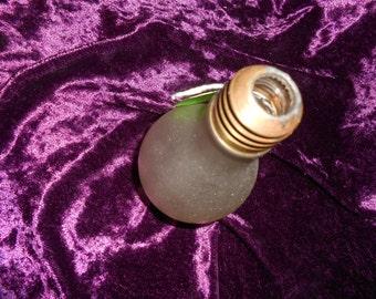 Weird Deco Era GE Light Bulb Vase advertising premium