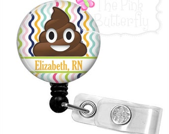 Poop Emoji badge reel
