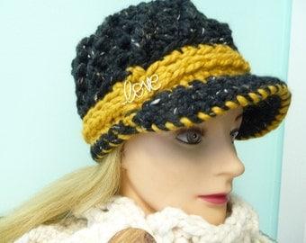 Ready to Ship Newsboy Hat