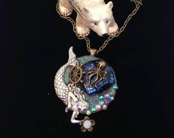 Alaskan Ocean Friends Necklace