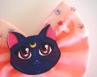 Pink Luna Sailor Moon Icing Star Hair Bow