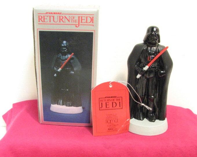 Vintage Darth Vader ROTJ Sigma Porcelain Figurine NMIB in Box ca: 1983, Star Wars Return of the Jedi Figure by Towle