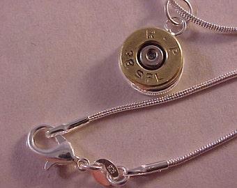 38 Special Bullet Pendant Necklace