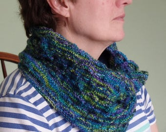 Turtle Shell Cowl or Infinity scarf