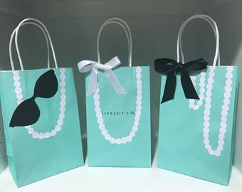 Tiffany & Co. or Breafast At Tiffany's Theme Party Bags