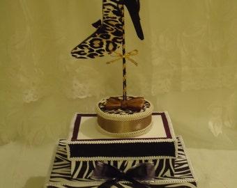 Stiletto shoe centerpiece, Shoe Party Table Decorations, High Heel Shoe Centerpieces