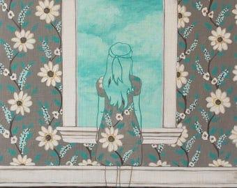 Daydreamer - Fine Art Print of Original Painting