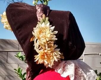 Velvet Victorian Bonnet