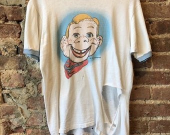 Destroyed 70s howdy doody t shirt