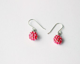 Influenza Earrings - this year's flu!