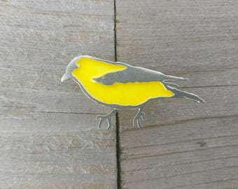 Goldfinch Pin