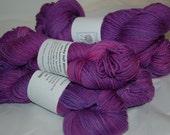 Studio June Yarn, Squishy Soft Worsted, Superwash Merino,Worsted Weight, Color: Purple Azalea