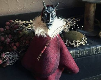Krampus Poppet Ornament by Macabre