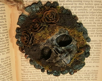 Uneathed - Under the Roses II Assemblage Ornament