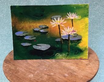 Lily pad 1 - Print
