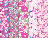 Liberty Fabric Exclusive Collection Tana Lawn Five Fat Quarters Selection 360