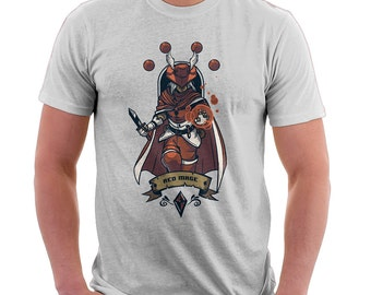 Red Mage Final Fantasy Shirt | Final Fantasy Tee | T-shirt for Women Men | Geek Shirt | Nerd Shirt | Video Games