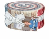 SPRING SALE - Sweet Blend - Jelly Roll - Laundry Basket Quilts - Moda Fabrics