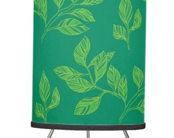 leaf lamp shade green drum pendant lamp shade foliage table lamp stand hanging light