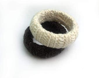 Knit Bangle | bangles | hand knit