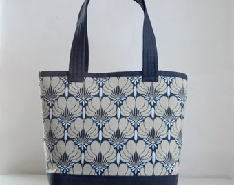 Imperial Fans Black Fabric Tote Bag - READY TO SHIP