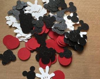 """Disney Mickey Mouse 200 piece confetti 1"""""""