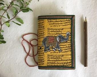 Elephant Journal, Art Journal, Husband Gift, Brother Gift, Boyfriend Gift, Father Gift, For him, Gift for Guys, Spiritual Journal, Under 10