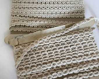 2 Large Lace Cards