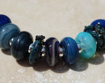 Orphans #2047 Artisan boro beads by JRG