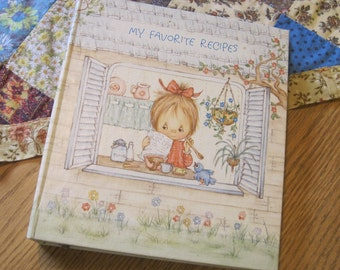 So Adorable a Vintage 1973 Recipe Album Binder from Betsey Clark Charmers by Hallmark
