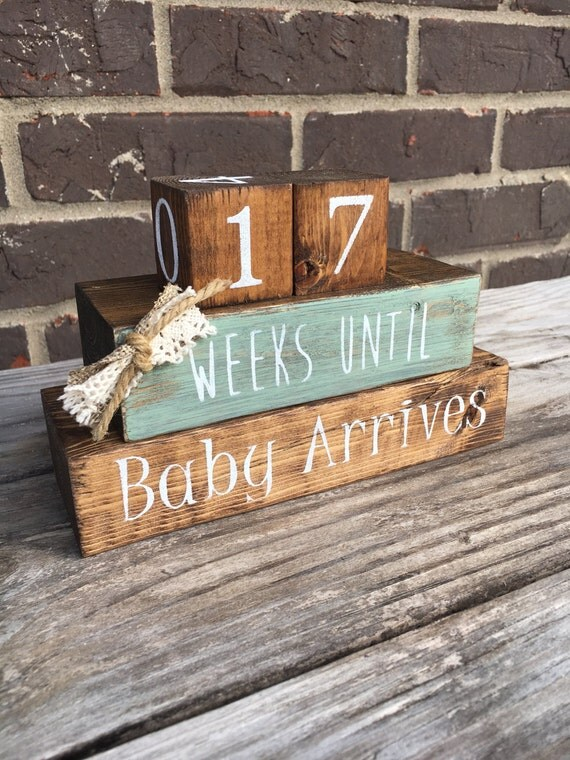 Baby Countdown Blocks
