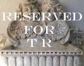 RESERVED for T R  Patina Stone Catch All Box