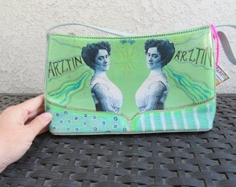 Upcycled Purse, Green, Rahel Hirsch, Doctor