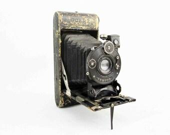 Antique Goerz Folding Pocket Camera. Circa 1900's - 1910's.