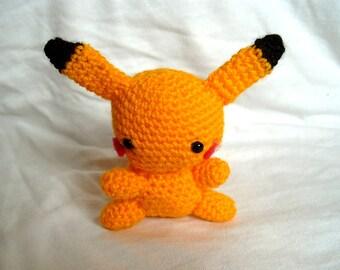 Crochet Pikachu Toy Pokemon Go Amigurumi Pokemon