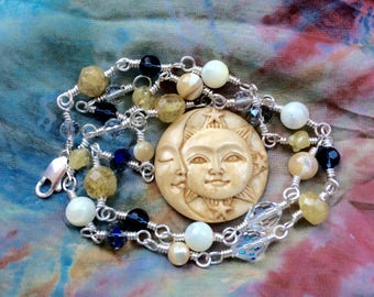 Spiritual Jewelry for Your Heavenly Body - The Sun, the Moon and Stars